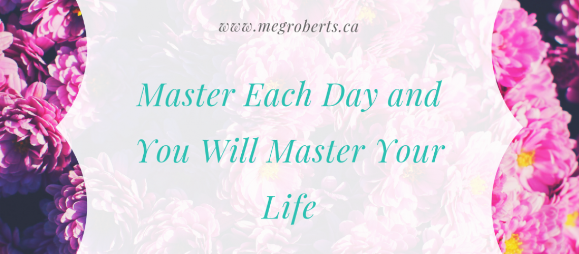 Meg Roberts - Personal coach - master your life